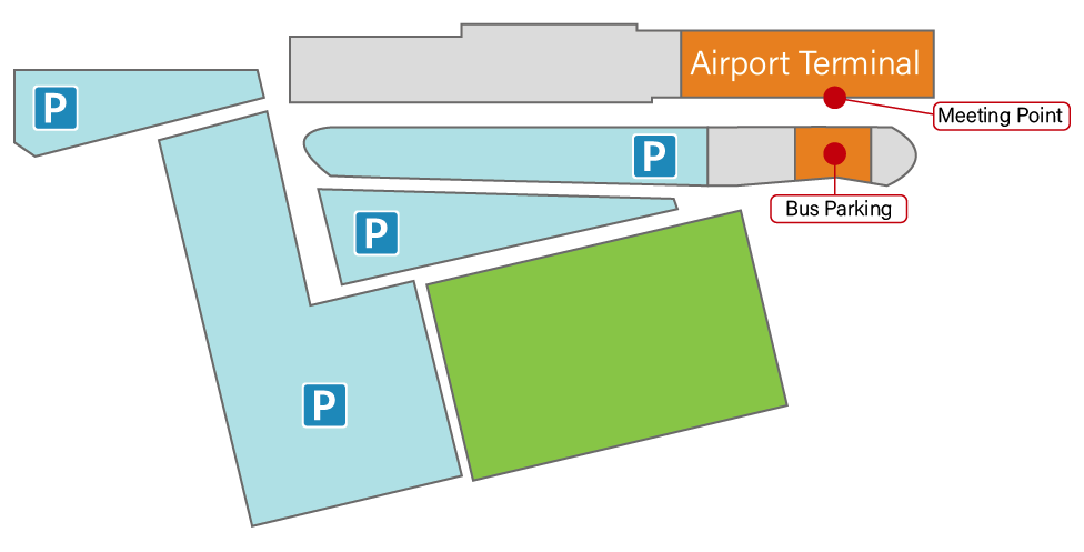 Toyama airport map